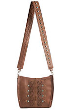 Catchfly Women's Leather Belle Crossbody Bag