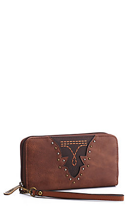 Justin Women's Saddle Brown Wallet