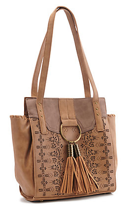 Catchfly Women's Hazelnut Chloe Purse