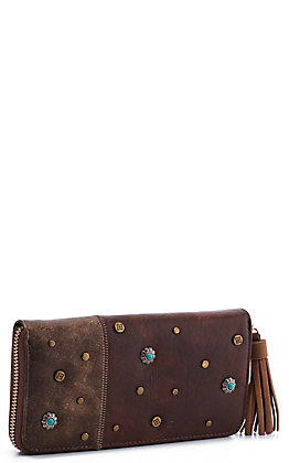 Catchfly Women's Selena Copper Wallet