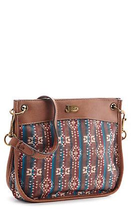 Justin Women's Sierra Aztec Crossbody Bag