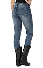 Rose Royce Sarina Circus Light Wash Skinny Jeans