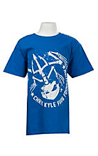 Blue Kid's Chris Kyle Frog Foundation T-Shirt