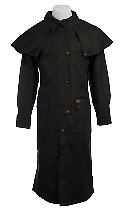 Outback Trading Co. Brown Low Rider Oilskin Duster - Big Sizes