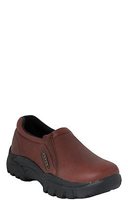 Roper Men's Brown Performance Sport Original Slip-On Shoes