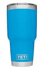 YETI 30 oz Tahoe Blue Tumbler with Magslider Lid