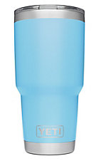YETI 30 oz Light Blue Tumber with Magslider Lid