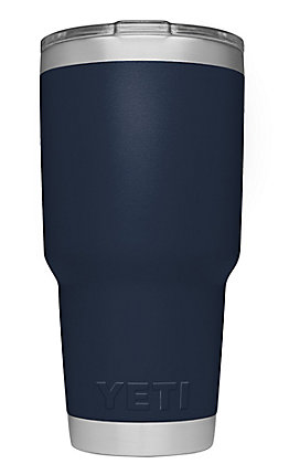 YETI 30 oz Navy Tumber with Magslider Lid