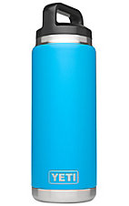 YETI Rambler Tahoe Blue 26 oz Bottle