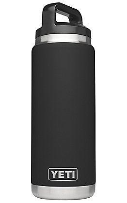 YETI Rambler Black 26 oz Bottle