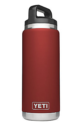 YETI Rambler Brick Red 26 oz Bottle