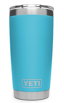 YETI 20oz Reef Blue Rambler Tumbler with MagSlider Lid