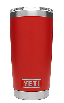 YETI 20oz Canyon Red Rambler Tumbler with MagSlider Lid