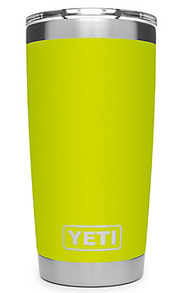 Yeti Chartreuse Rambler 20 Oz Tumbler with MagSlider Lid