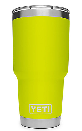 Yeti Chartreuse Rambler 30 Oz Tumbler with MagSlider Lid