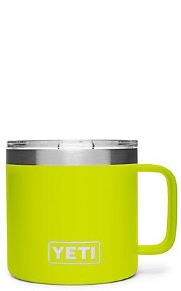 Yeti Chartreuse Rambler 14 Oz Mug with Standard Lid