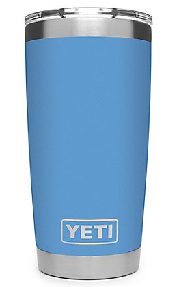 Yeti Pacific Blue Rambler 20 Oz Tumbler with MagSlider Lid
