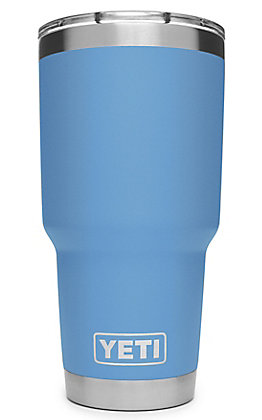 Yeti Pacific Blue Rambler 30 Oz Tumbler with MagSlider Lid