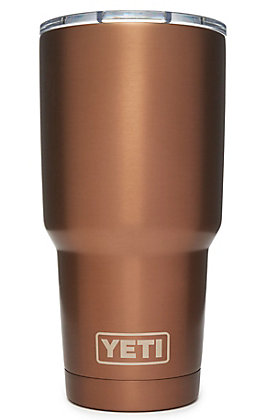 Yeti Copper Rambler 30 Oz Tumbler with MagSlider Lid
