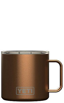 Yeti Copper Rambler 14 Oz Mug with Standard Lid