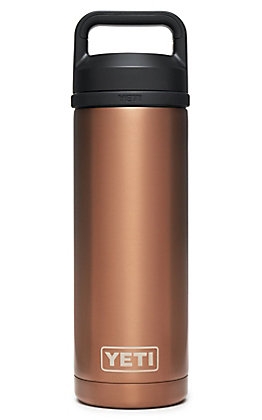 Yeti Copper Rambler 18 Oz. Bottle with Chug Cap