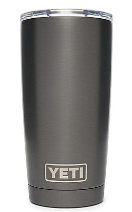 Yeti Graphite Rambler 20 Oz Tumbler with MagSlider Lid