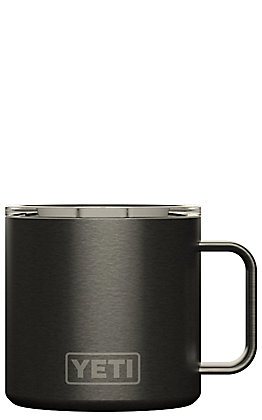 Yeti Graphite Rambler 14 Oz Mug with Standard Lid