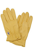 M&F Ladies Tan Goatskin Gloves