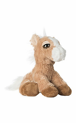 Aurora Dreamy Eyes Breeze Tan Stuffed Horse