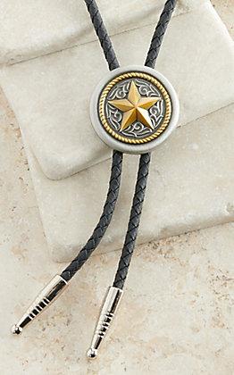 M&F Western Texas Star Bolo Tie