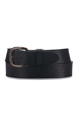 Justin Black Basic Work Belt