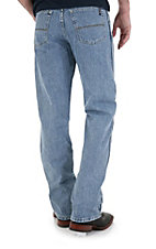 Wrangler 20X Men's Style 23 Antq. Blue Relaxed Big & Tall Jean