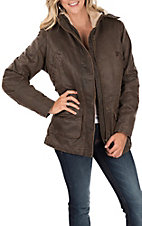 Outback Trading Company Women's Brown Woodbury Canyonland Jacket