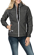 Women's Cowgirl Hardware Heather Black Tech Jacket