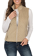 Outback Trading Company Women's Grand Prix Cream Vest