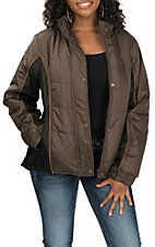 Outback Trading Company Women's Beatrix Brown and Black Jacket