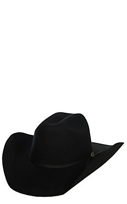 Cavender's Cowboy Collection 2X Black Wool Cowboy Hat