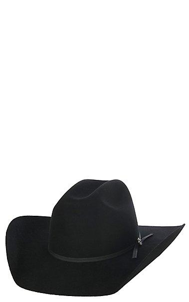 544ca82b420 Cavender s Kids 2X Black Cattleman Crown Felt Cowboy Hat