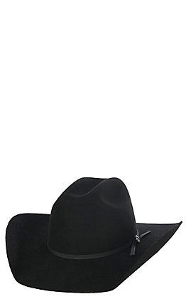 Cavender's Kids 2X Black Cattleman Crown Felt Cowboy Hat