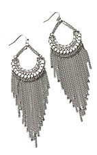 Blazin Roxx Sparkling Chandelier Earrings