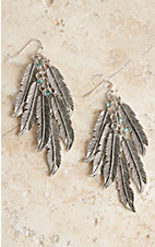 Blazin Roxx Feather Dangle Earrings