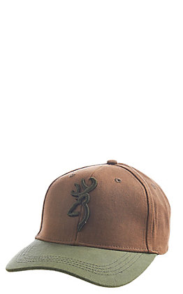 reputable site 9d6c1 13aaa Browning Brown Acorn Solid Logo Repeltex Cap