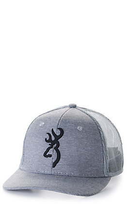 Browning Turley Grey with Black Logo Cap