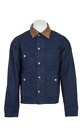 Schaefer Men's Navy Vintage Brush Jacket