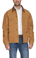 Schaefer Men's Tan Vintage Brush Jacket