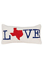 Peking Handicraft Texas Love Throw Pillow