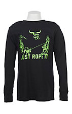 Cowboy Hardware Boys Just Rope It Long Sleeve T-Shirt