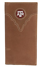 Danbury Collegiate Collection Texas Aggies Brown Rodeo Wallet