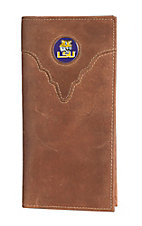 Danbury Collegiate Collection LSU Brown Rodeo Wallet