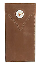 Danbury Collegiate Collection Texas Longhorn Brown Rodeo Wallet